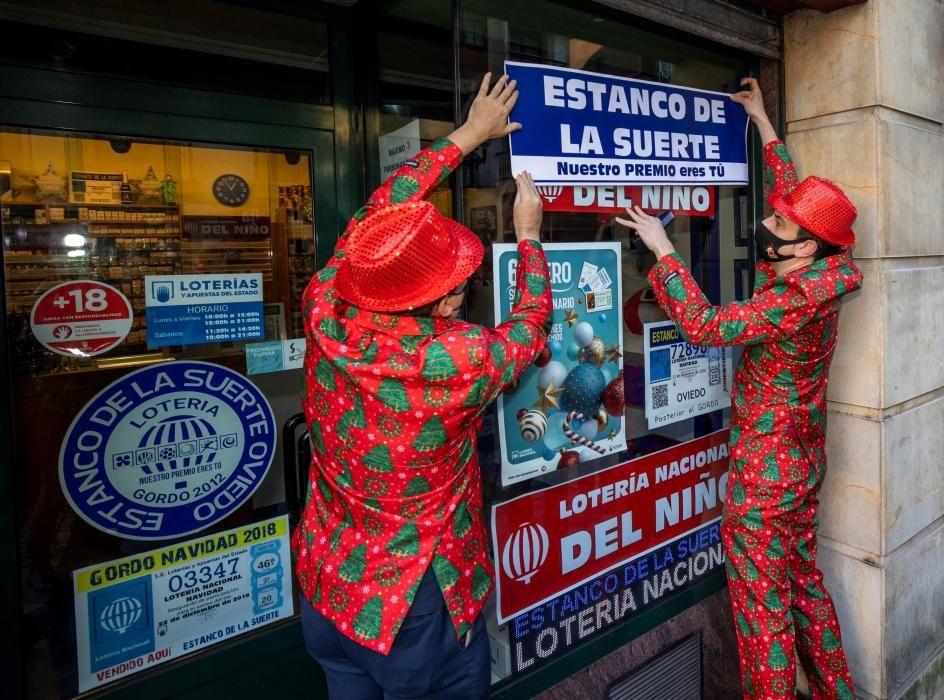 """Lotería de """"El Niño"""" en Oviedo"""