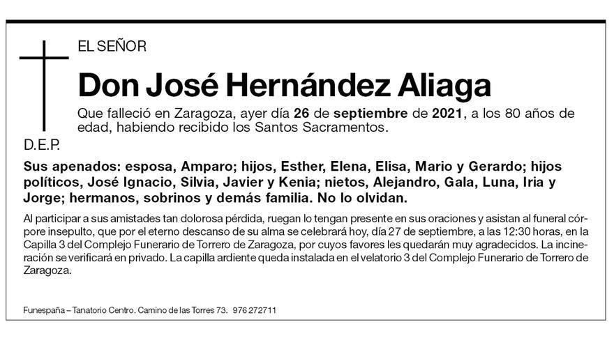 José Hernández Aliaga