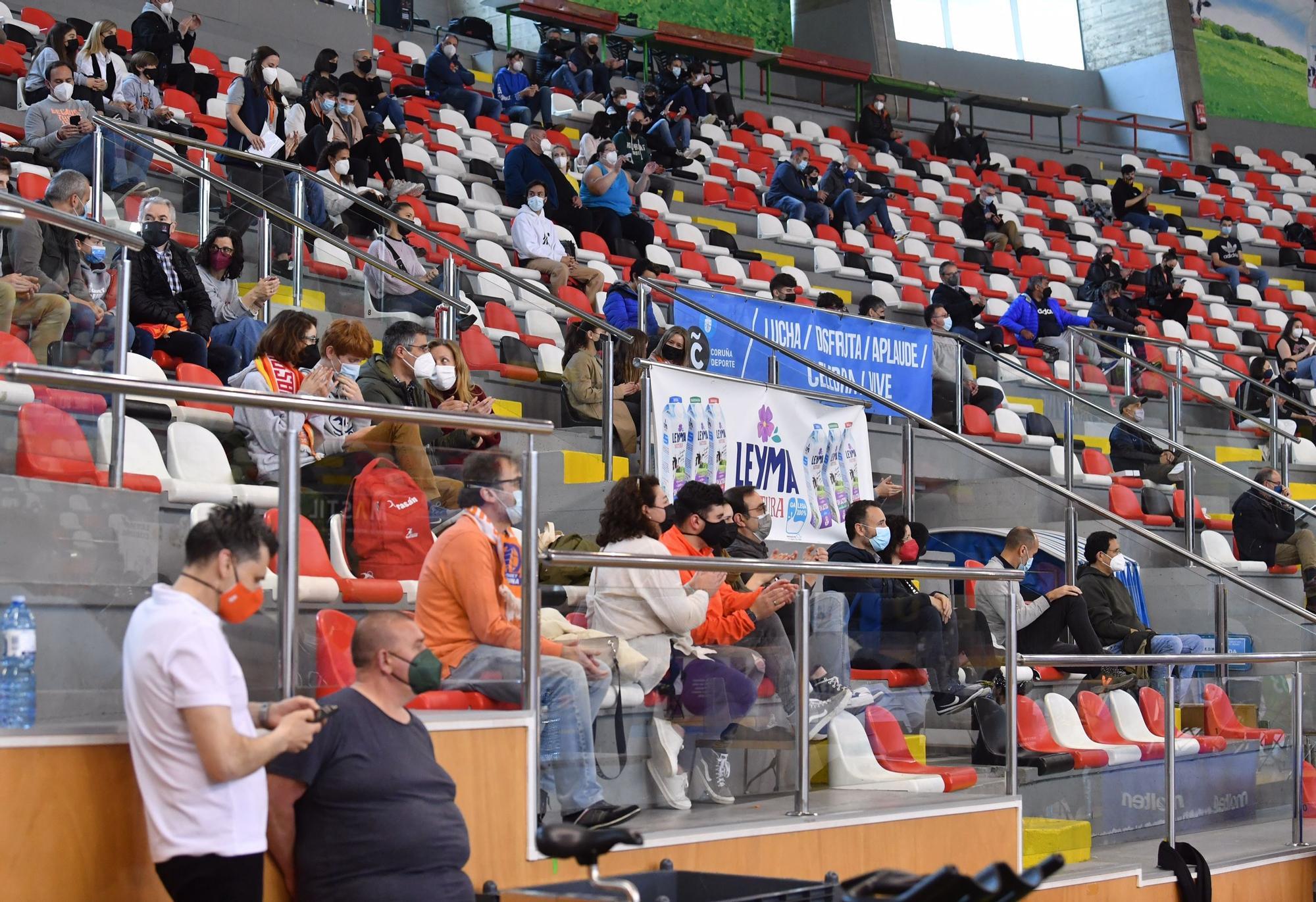 El Leyma cierra la segunda fase ante el TAU Castelló