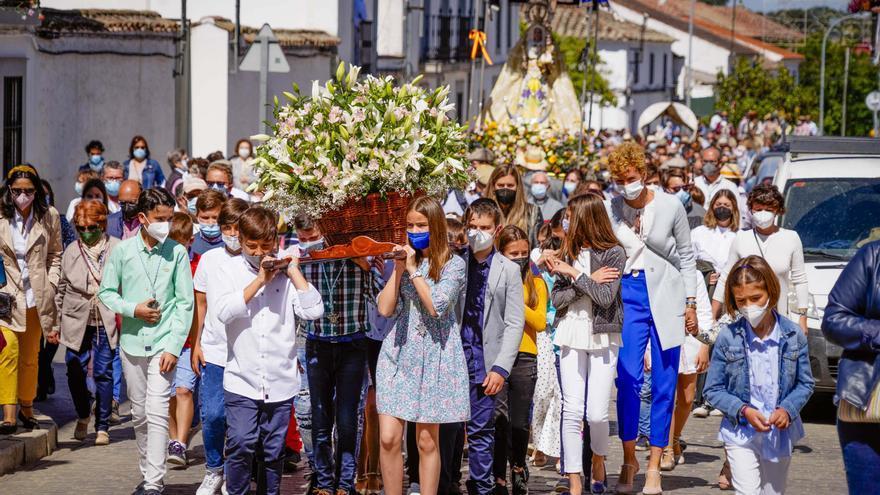 La Virgen de Luna llega a Villanueva de Córdoba