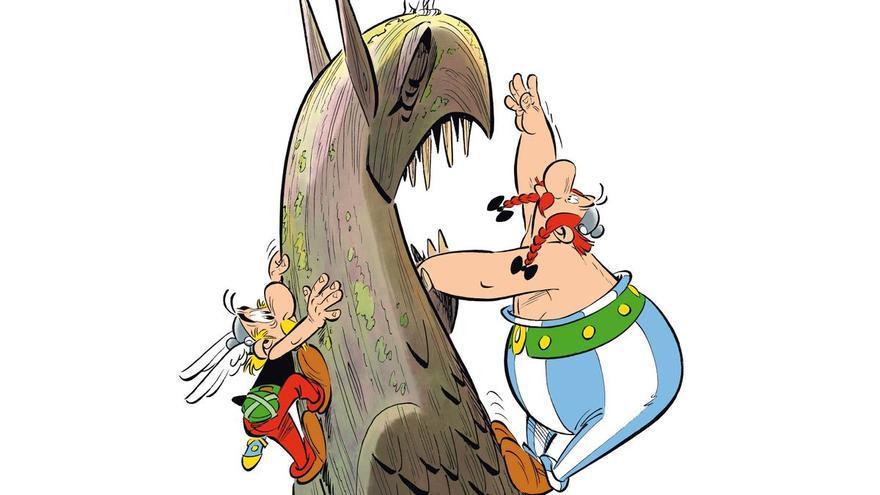 Astérix y Obélix regresan para buscar al mitológico grifo