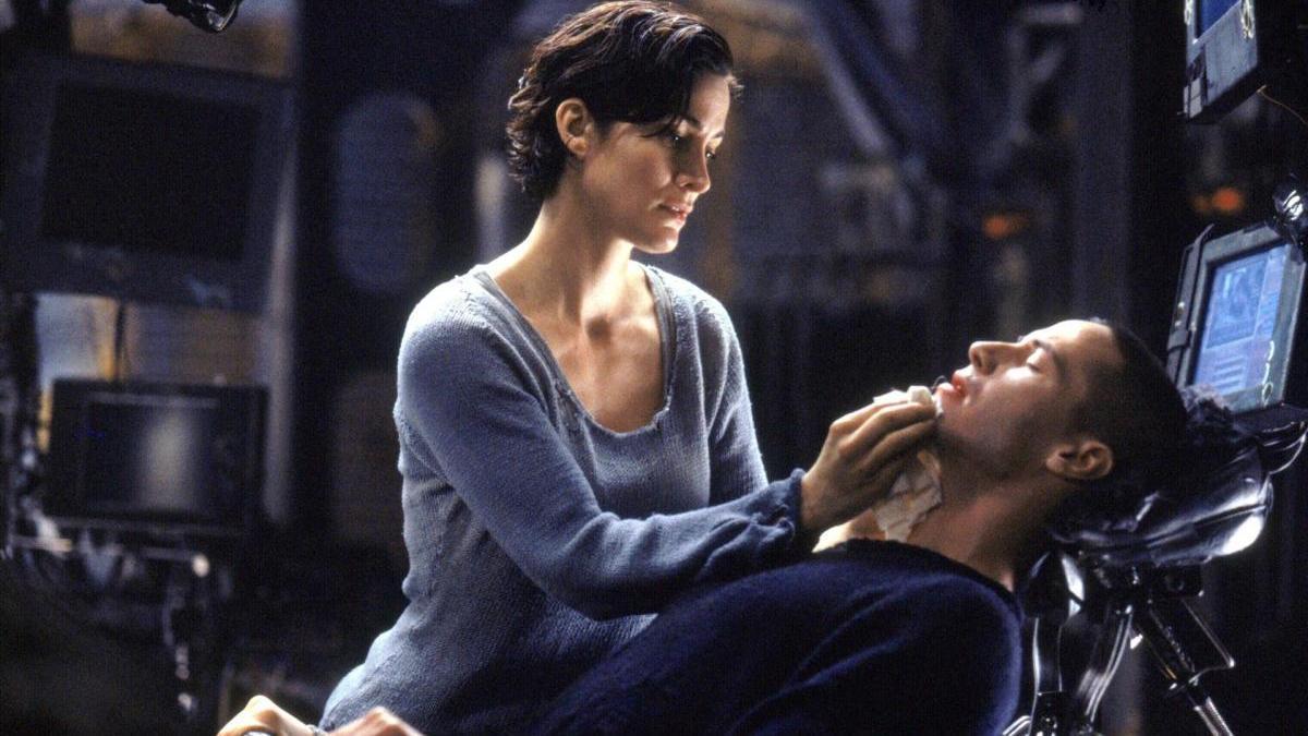 Fotograma de 'Matrix'.