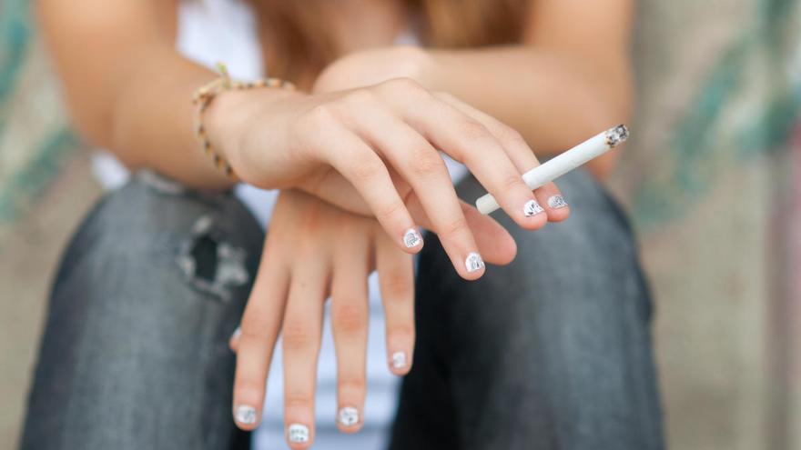 Más de 40 millones de jóvenes de 13 a 15 años fuman tabaco