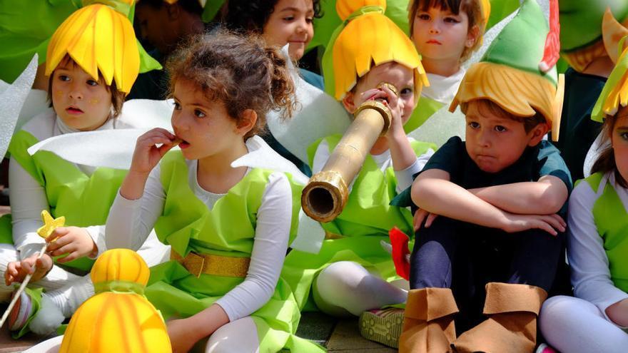 El món dels oficis envaeix Figueres amb la rua infantil