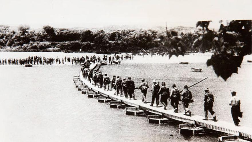 El último del Ebro era canario