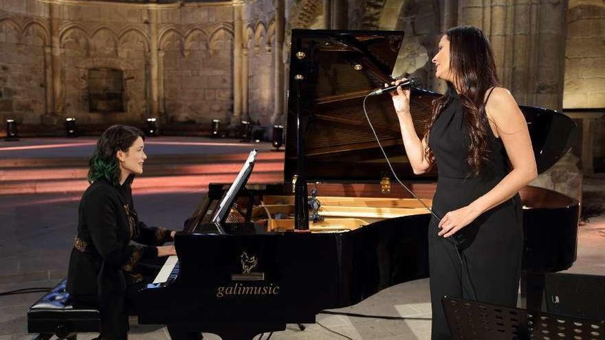 'Un canto á vida', un concerto homenaxe de Rosa Cedrón e Cristina Pato, hoxe na TVG