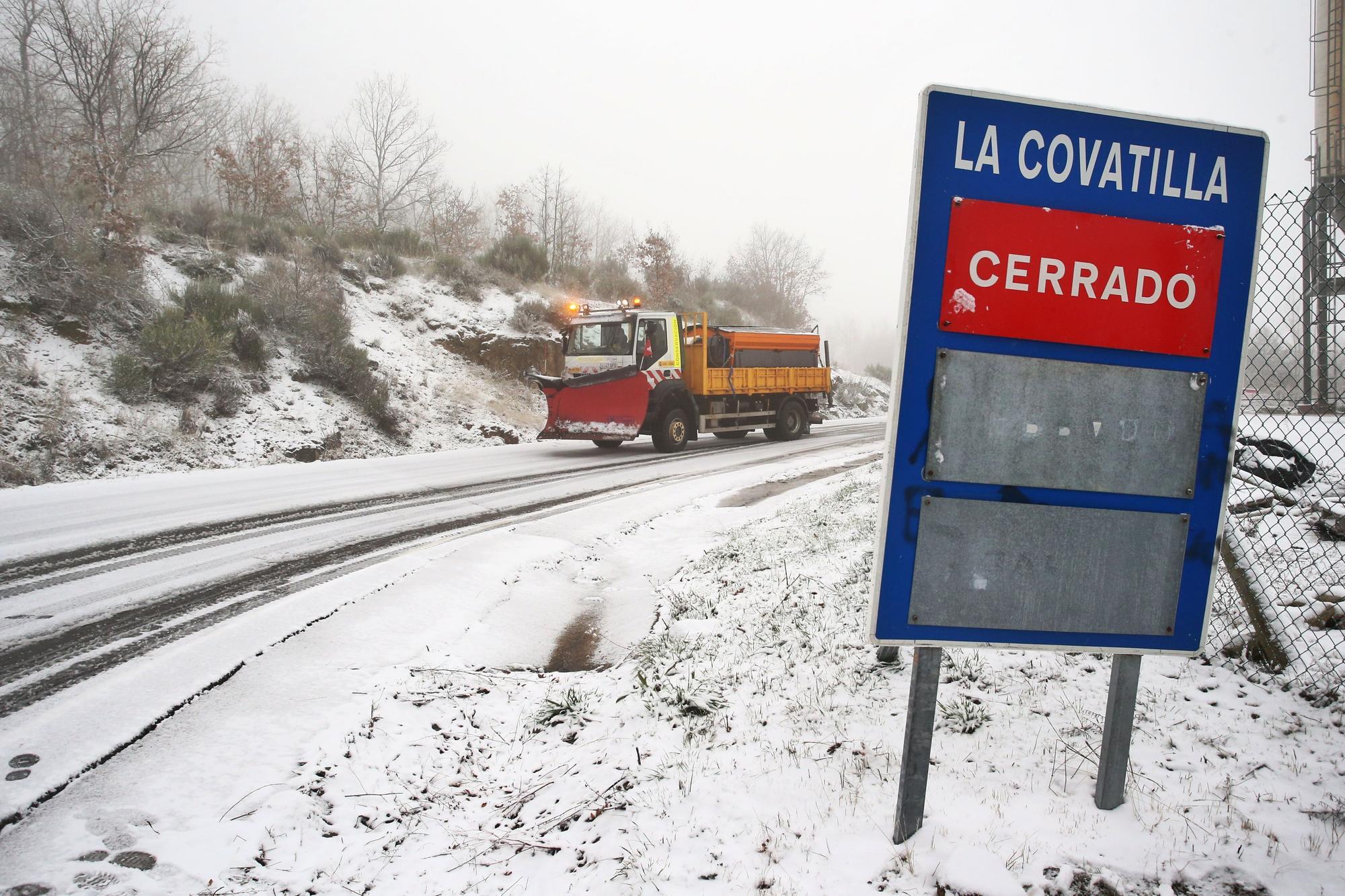 La nieve vuelve a Castilla y León