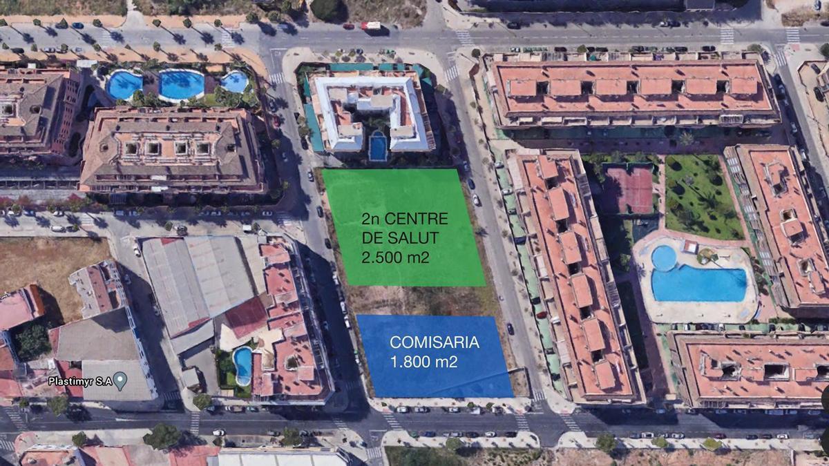 El solar de Miguel Hernández acogerá el segundo centro de salud y la comisaría