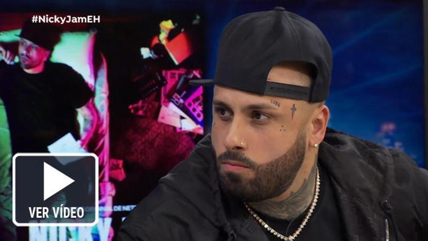 Nicky Jam emociona con sus duras confesiones en 'El Hormiguero'