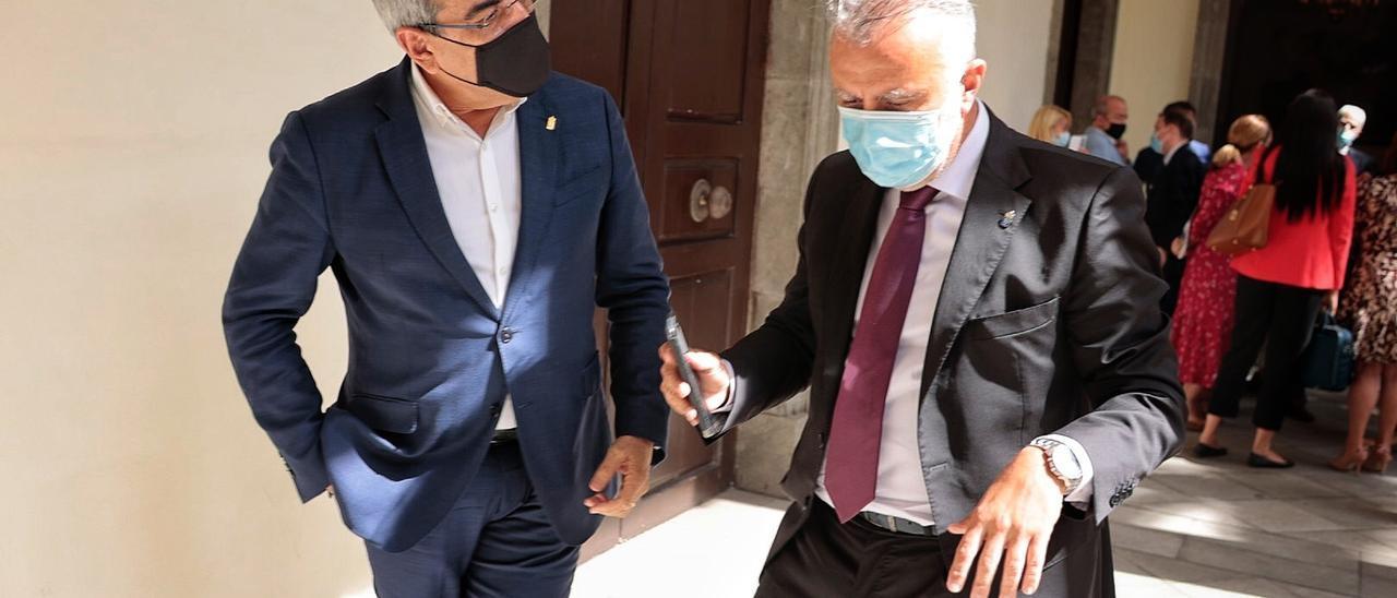 Firmado el convenio que permitirá la llegada a Canarias de 1.144 millones de euros en ayudas directas del Estado