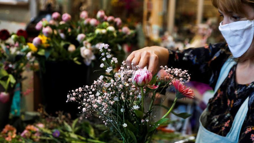 La producción de flores se hunde por el coronavirus