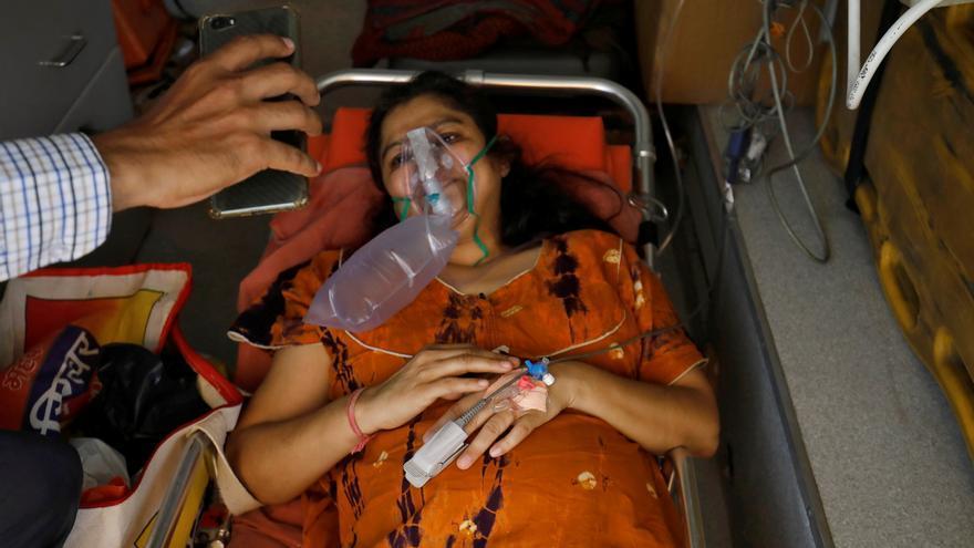 India ya es el epicentro de la pandemia, con casi un 40% de los nuevos casos