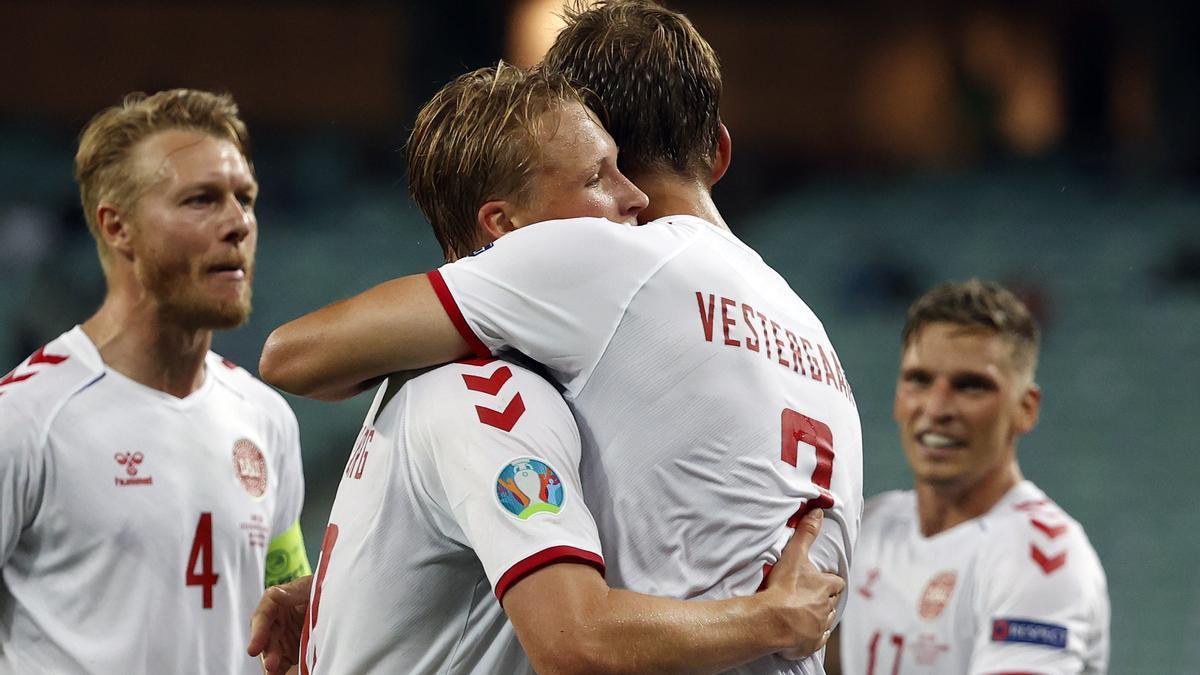 Dinamarca, a las semifinales de Eurocopa.