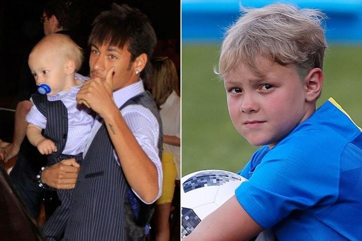 El  hijo de Neymar JR.