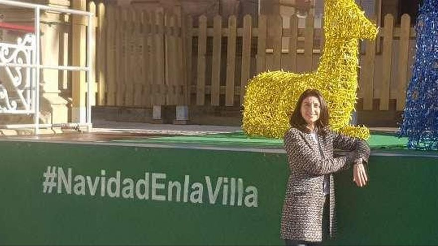 """A la presidenta del Senado le gusta """"todo"""" de Villaviciosa"""