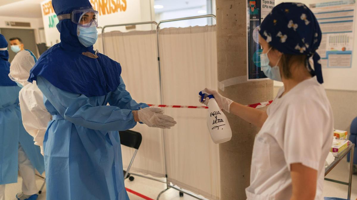Asciende de nuevo el número de hospitalizados en la Región