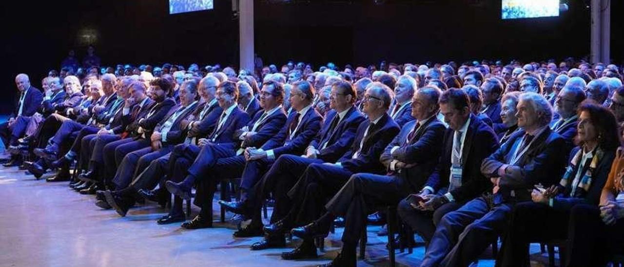 Empresarios del Levante español reunidos el pasado jueves en Elche.