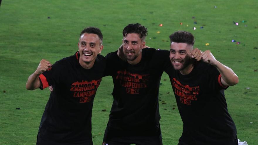 Las imágenes del ascenso del Zamora CF.