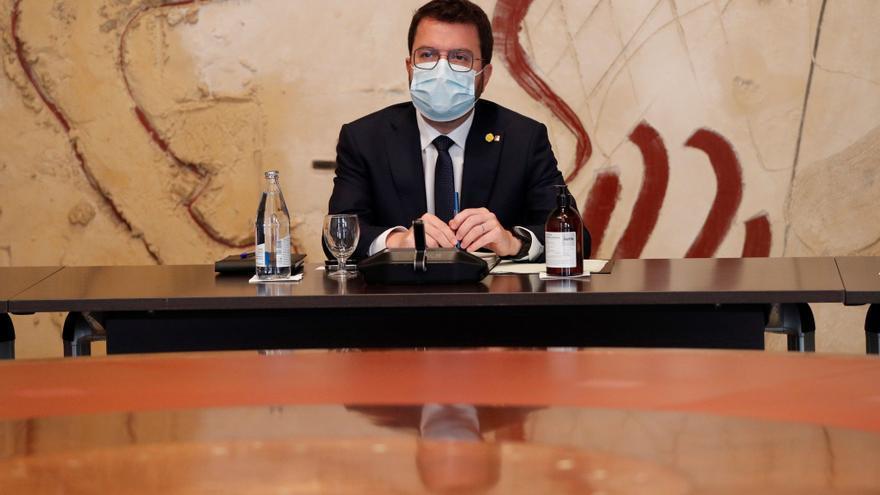Aragonès abre una ronda de contactos con líderes de la oposición