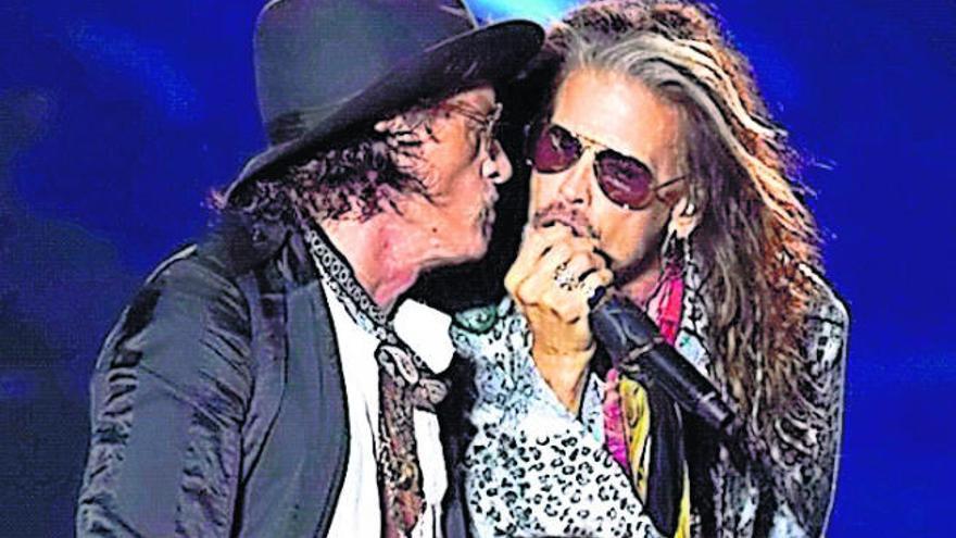 Aerosmith abre en Tel Aviv la gira 'Aero-Vederci Baby' que llega el 8 de julio a Tenerife