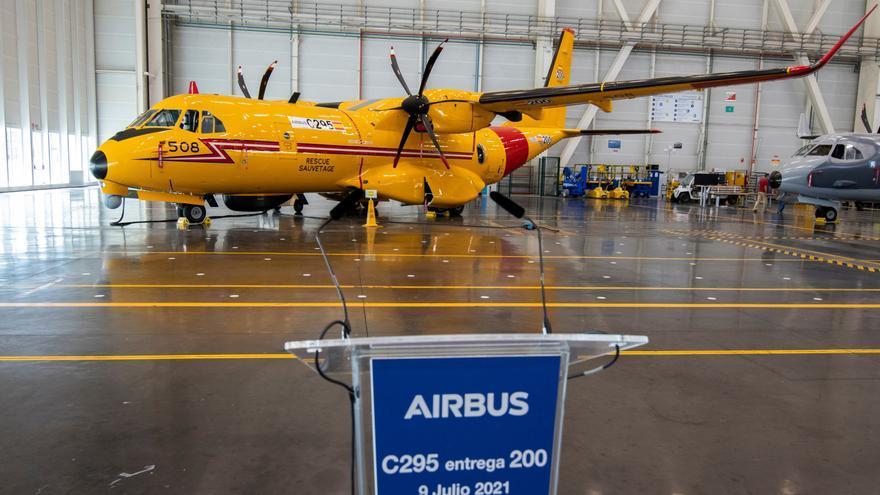 Airbus vende 56 aviones militares a India, de los que 16 se fabricarán en Sevilla