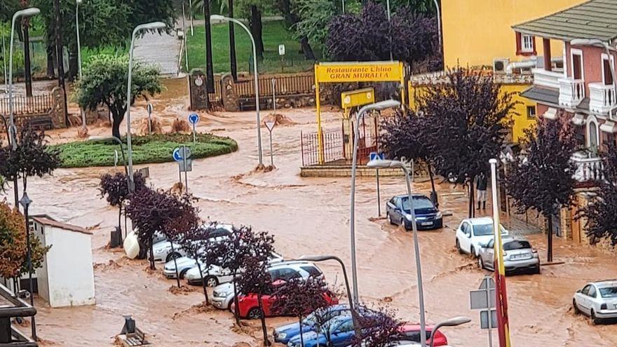 La dana inunda Almendralejo y su entorno y causa cuantiosos daños