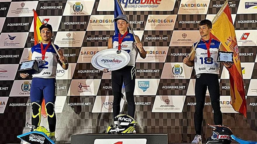 Juan Carlos Palau consigue el subcampeonato mundial de motos de agua en Olbia