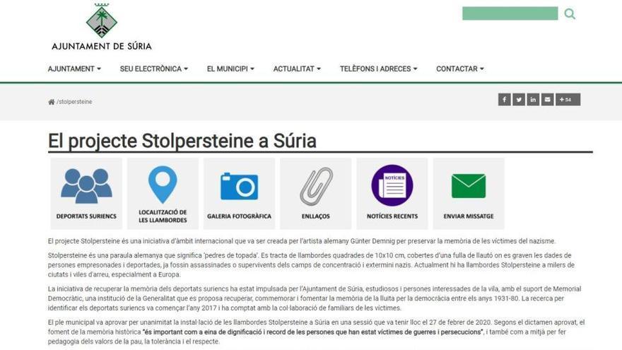 Els deportats suriencs als camps nazis ja tenen el seu web