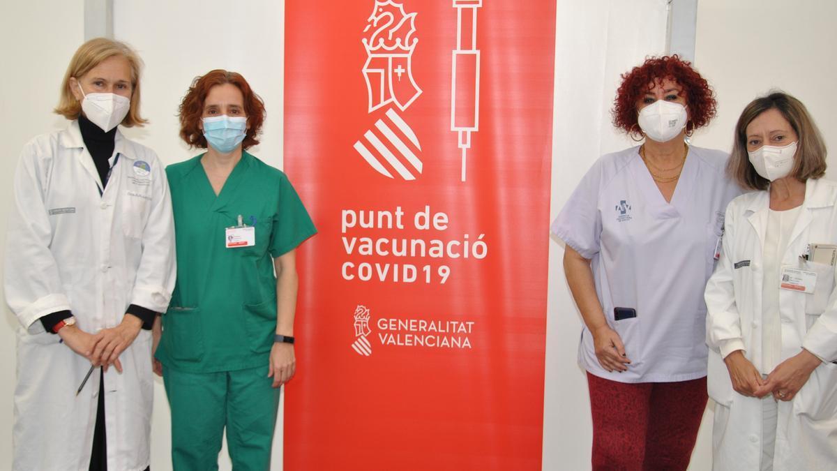 Personal del Hospital General de Castelló.