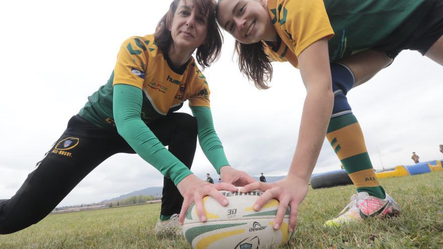 Las jugadoras de rugby de Asturias luchan por mantener lo conquistado antes de la pandemia y están listas para volver a empezar