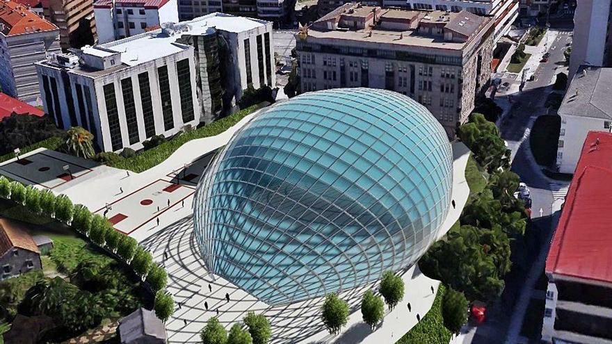 La Xunta perfila la futura Biblioteca del Estado en Vigo