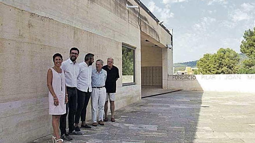 El arquitecto Rafael Moneo visita Palma
