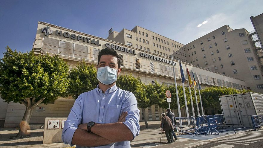 """José Carlos Cabezuelo Guerrero: """"Estuve muy crítico, al borde de  la muerte, el virus no entiende que tengas veinte o treinta años"""""""