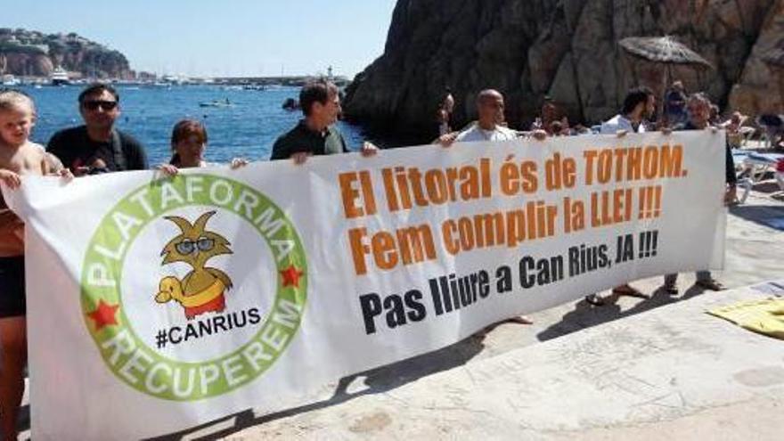Sant Feliu s'oposa a la renovació  de la concessió del Club de Mar