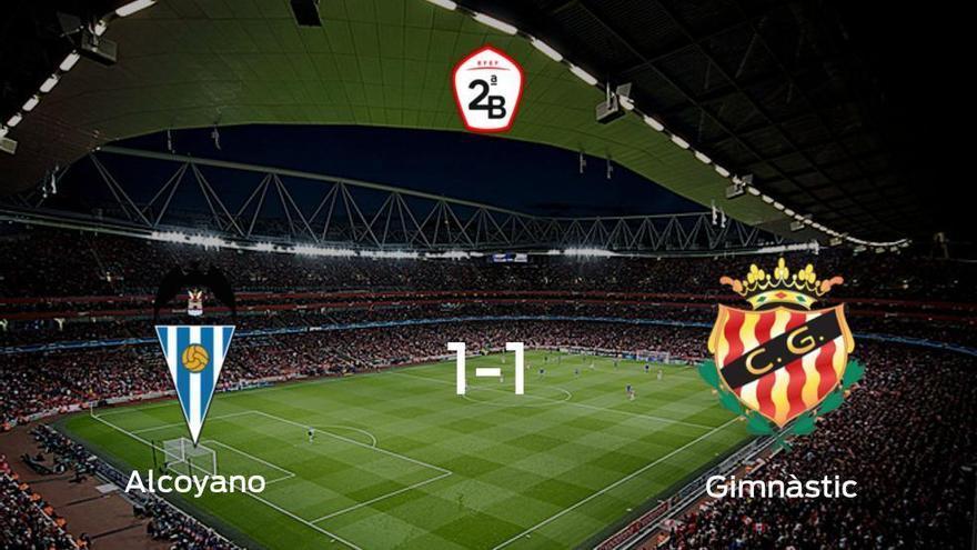 El Alcoyano y el Gimnàstic Tarragona empatan a uno en El Collao