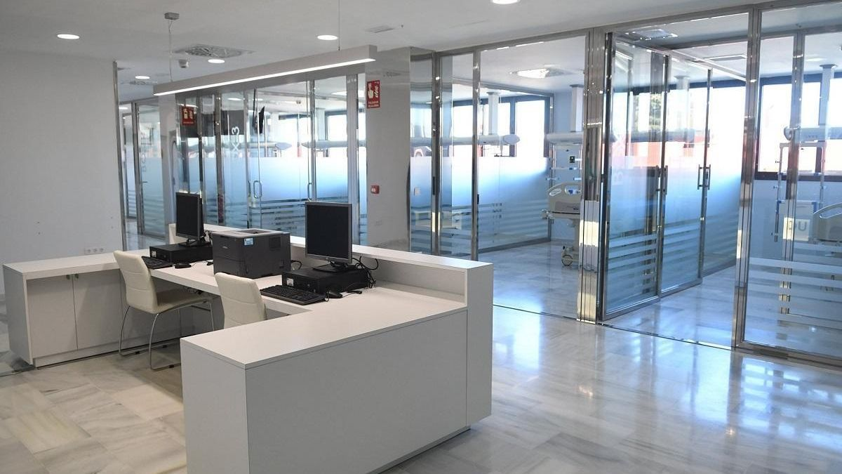 El hospital de Los Pedroches pone en marcha su nueva UCI y zona de reanimación