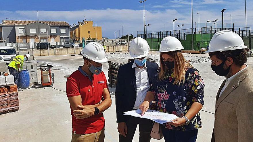 La Diputació passa revista a les obres que finança en la comarca