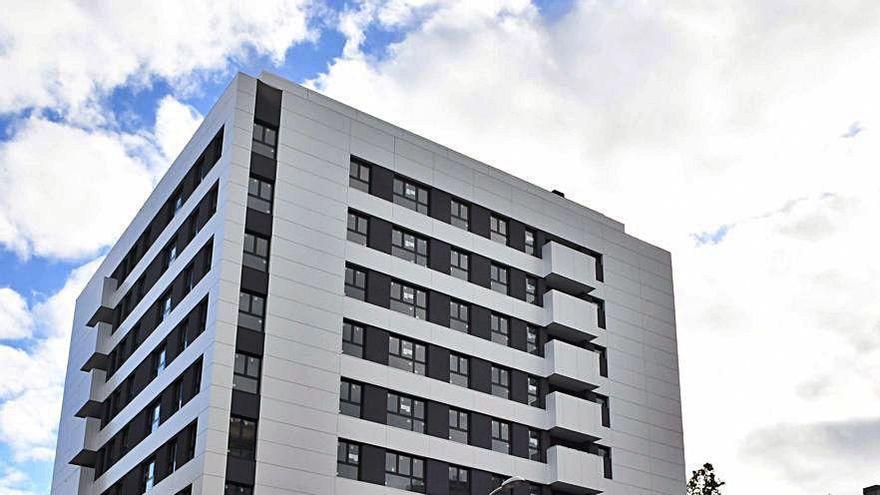El nuevo edificio de la plaza de Tabacos desvela su fachada