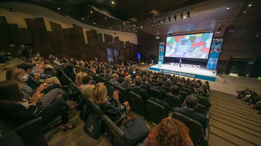Arranca en Málaga el 16 Congreso Jurídico de la Abogacía con 80 ponencias en dos días