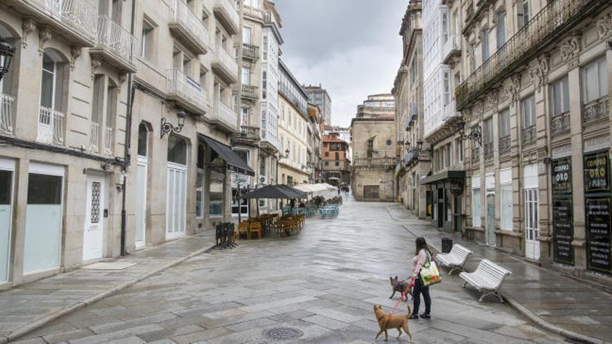 Ourense amanece confinada