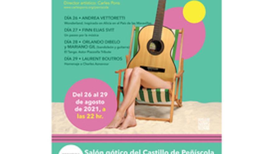 XIX Festival internacional de guitarra de Hondarribia - Peñíscola: Laurent Boutros