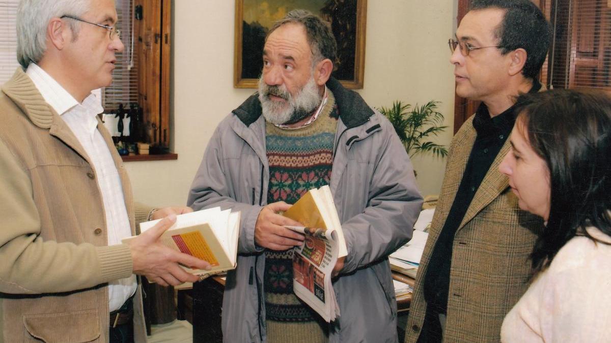 2005, cuando el actor Paco Algora celebró un cumpleaños en el Rectorado