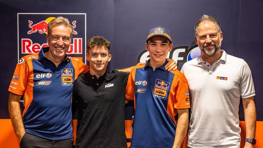 Daniel Holgado llega al Mundial de Moto3 con el Tech3