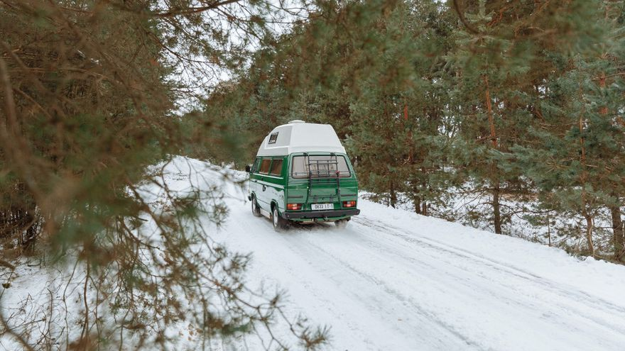No pases por alto estos consejos a la hora de viajar en autocaravana en invierno