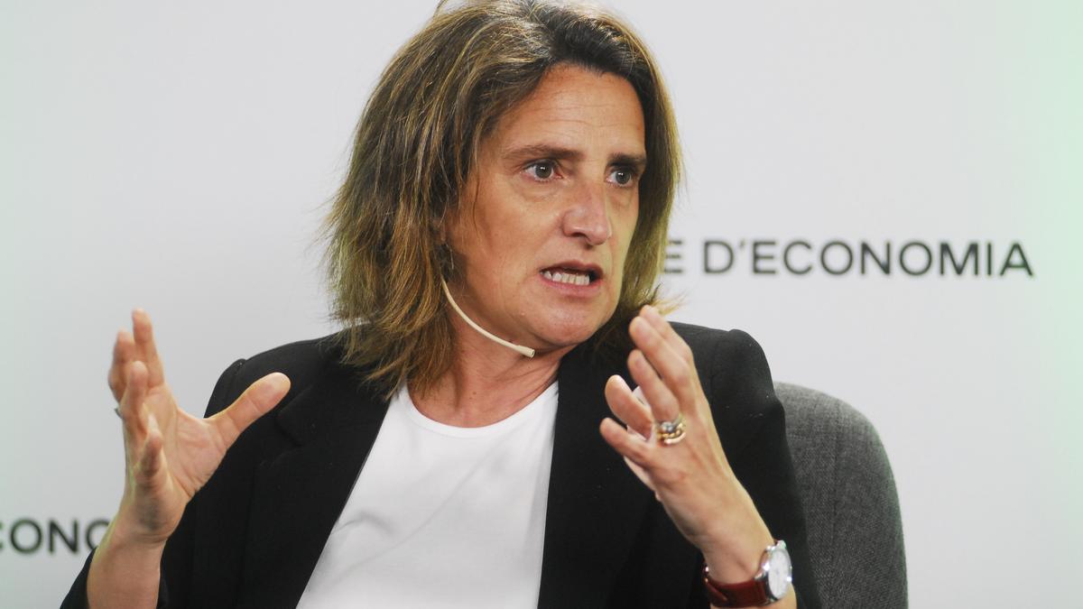 Teresa Ribera, ministra de Transición Ecológica y Reto Demográfico.