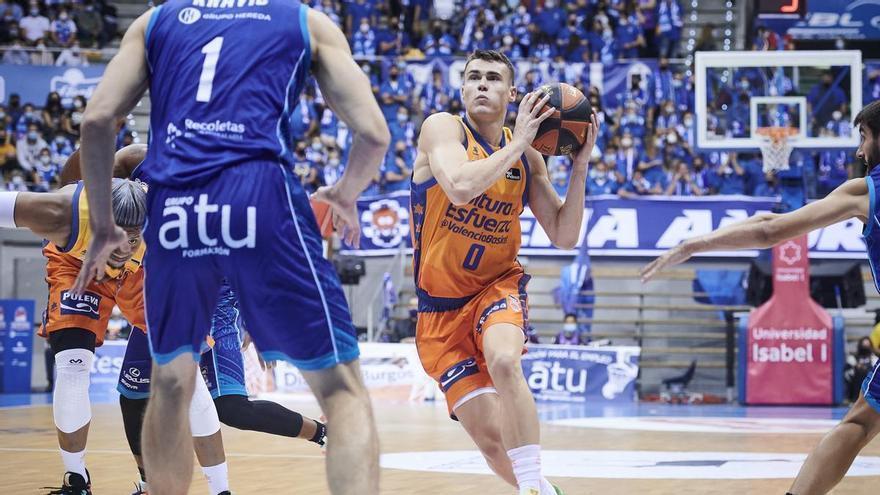 Labeyrie se multiplica para ganar en Burgos (65-69)