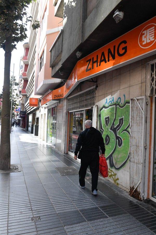 Comercios chinos en la capital grancanaria