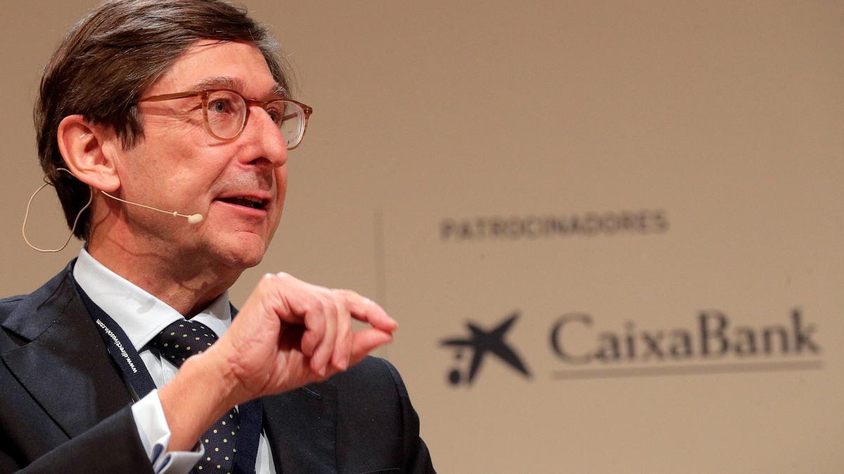 El presidente de Bankia, José Ignacio Goirigolzarri, durante su intervención en el congreso