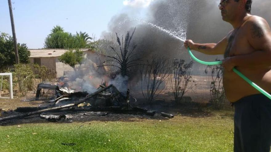 Hubschrauber-Unfall: So halfen Anwohner an der Absturzstelle