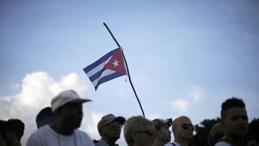 Multitudinaria despedida a Fidel Castro en la Plaza de la Revolución